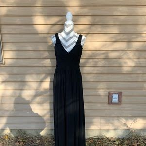 BCBG Maxazria Black Gown Size 6